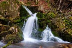 Straripamento della raccolta dell'acqua fotografia stock
