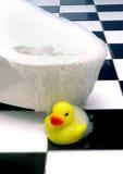 Straripamento della vasca Fotografia Stock