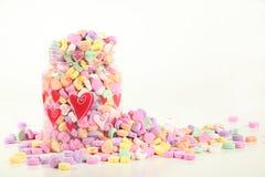 Straripamento dolce di amore Immagini Stock