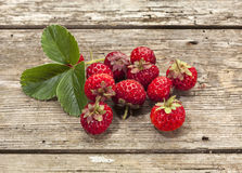 Strasberry or Framberry fruits Stock Image