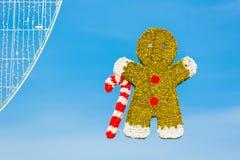 Strasboug 2015年12月 圣诞节装饰在史特拉斯堡, Als 免版税图库摄影