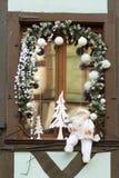 Strasboug 2015年12月 圣诞节装饰在史特拉斯堡, Als 库存图片