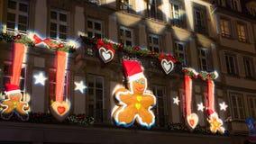 Strasboug December 2015 .Christmas decoration at Strasbourg, Als Royalty Free Stock Image
