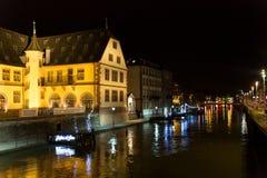 Strasboug December 2015 .Christmas decoration at Strasbourg, Als Royalty Free Stock Images