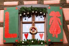Strasboug dicembre 2015 Decorazione di Natale a Strasburgo, Als Fotografie Stock