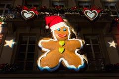 Strasboug dicembre 2015 Decorazione di Natale a Strasburgo, Als Fotografia Stock Libera da Diritti