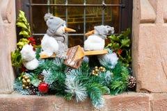 Strasboug en décembre 2015 Décoration de Noël à Strasbourg, SAL Image stock