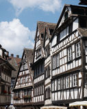 Strasbourg. Street with half-timbered houses, Petite France, Strasbourg Royalty Free Stock Images