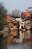 Strasbourg. Located in the east of France, Elsass Stock Photography