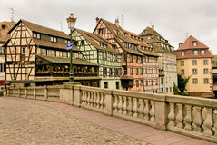 Strasbourg in Alsace, France Royalty Free Stock Photo