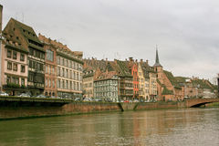 Strasbourg in Alsace, France Royalty Free Stock Image