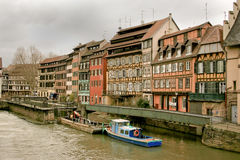 Strasbourg in Alsace, France Royalty Free Stock Images
