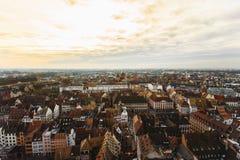 Strasbourg, alsace france Arkivbild