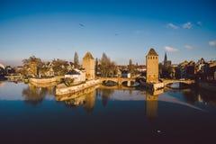 Strasbourg,. Alsace, France. Royalty Free Stock Images