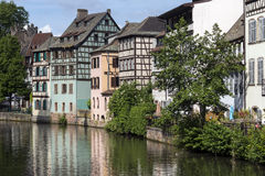 Strasbourg in the Alsace region of France Stock Images