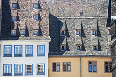 Strasbourg - Ancient houses Stock Image