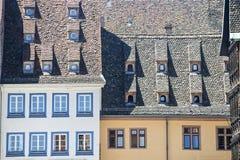 Strasbourg - Ancient houses Stock Image