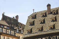 Strasbourg - Ancient houses Royalty Free Stock Photography