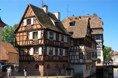 Strasbourg architecture Royalty Free Stock Photo