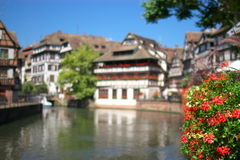 Strasbourg architecture Stock Photos