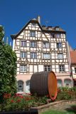 Strasbourg architecture Royalty Free Stock Photo