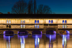 Strasbourg Barrage Vauban (Vauban weir) Royalty Free Stock Photography