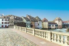Strasbourg, bridge Ponts St. Martin Royalty Free Stock Photo