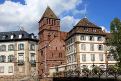 Strasbourg buildings, France Stock Photography