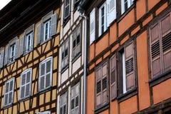 Strasbourg buildings, France Stock Images