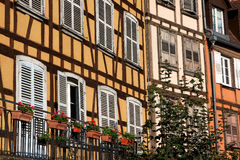 Strasbourg buildings, France Royalty Free Stock Photos