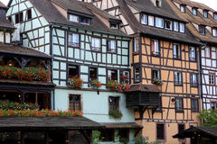 Strasbourg buildings, France Royalty Free Stock Photography