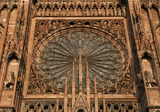 Strasbourg cathedral Stock Photography