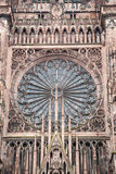 Strasbourg Cathedral, Alsace, France Stock Photos