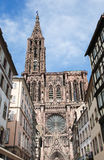 Strasbourg Cathedral, Alsace, France Stock Photo