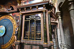Strasbourg Cathedral calculation religious holidays Royalty Free Stock Photography