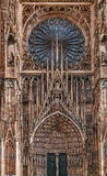 Strasbourg cathedral, France Royalty Free Stock Photography