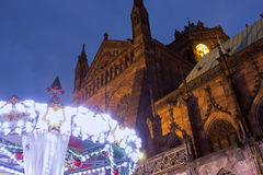 Strasbourg Cathedral Stock Images