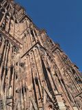 Strasbourg Cathedral. Or the Cathedral of Our Lady of Strasbourg stock photos