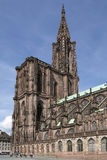Strasbourg Cathedral - Strasbourg - France Royalty Free Stock Photography