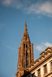 Strasbourg Cathedral tower Stock Photo