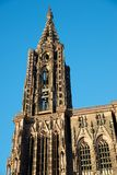 Strasbourg cathedral view Stock Photo