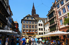 Strasbourg center Royalty Free Stock Photo