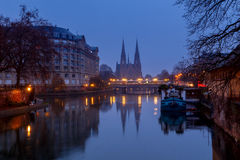 Strasbourg. The Church of the Reformation. Stock Images