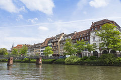 Strasbourg city, Alsace province, France Royalty Free Stock Photos