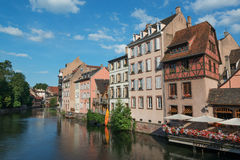 Strasbourg cityscape Stock Images