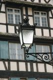 Strasbourg Detail. Lantern in Strasbourg Royalty Free Stock Images