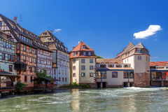 Strasbourg. District little France Royalty Free Stock Photography