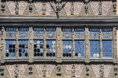 Strasbourg - forntida slott Royaltyfri Foto