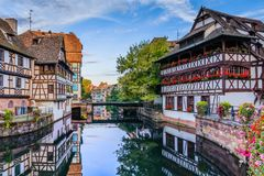 Strasbourg france Obrazy Royalty Free