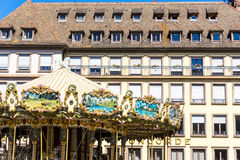 STRASBOURG, FRANCE - August 23 : Street view of Traditional hous Stock Image